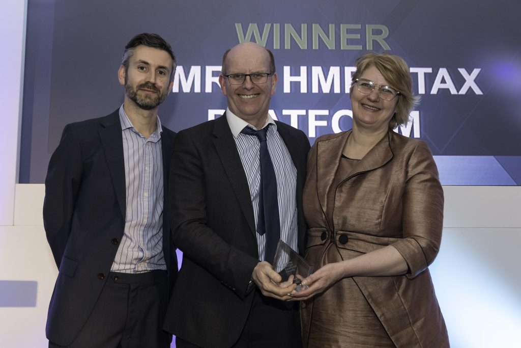 HMRC digital awarding winning digital platform