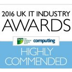 HMRC digital apprentice highly commended UK IT Industry Awards 2016