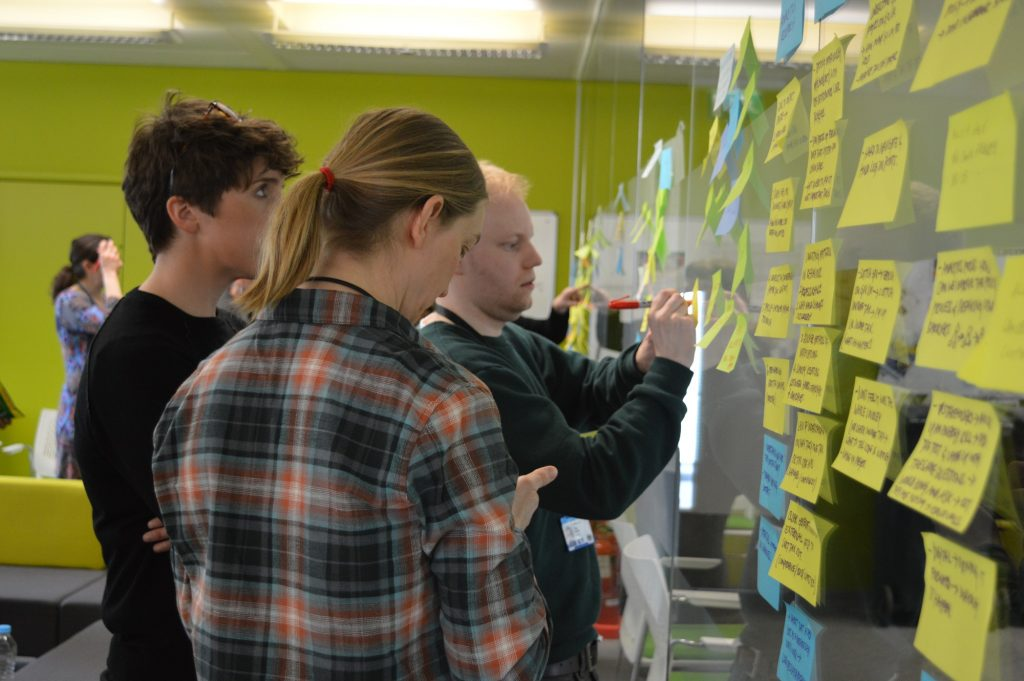 HMRC digital service Designers at work