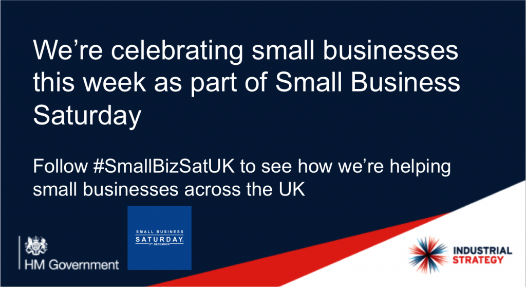 HMRC digital supports Small Business Saturday