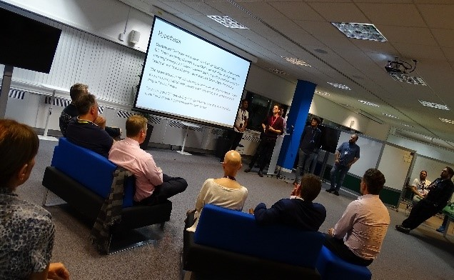 Hackathon Shipley pitches