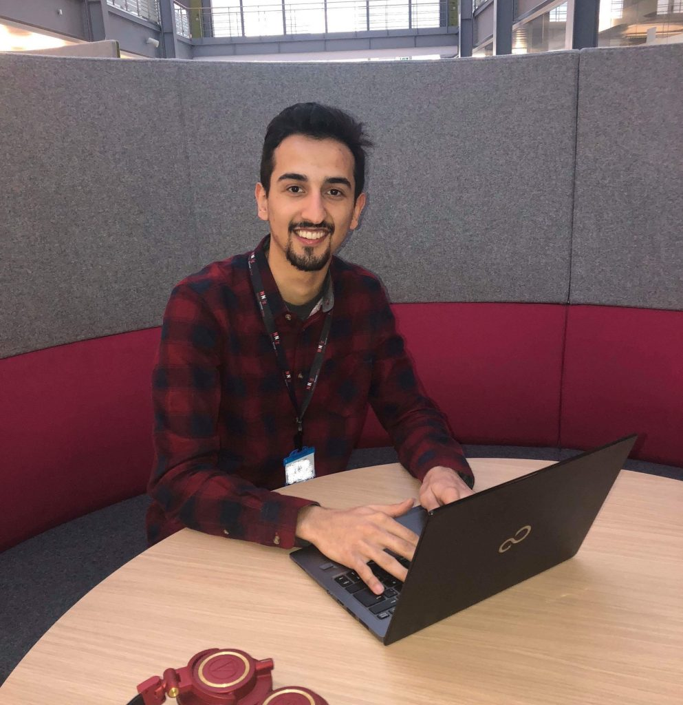 Matin Salali HMRC digital user researcher