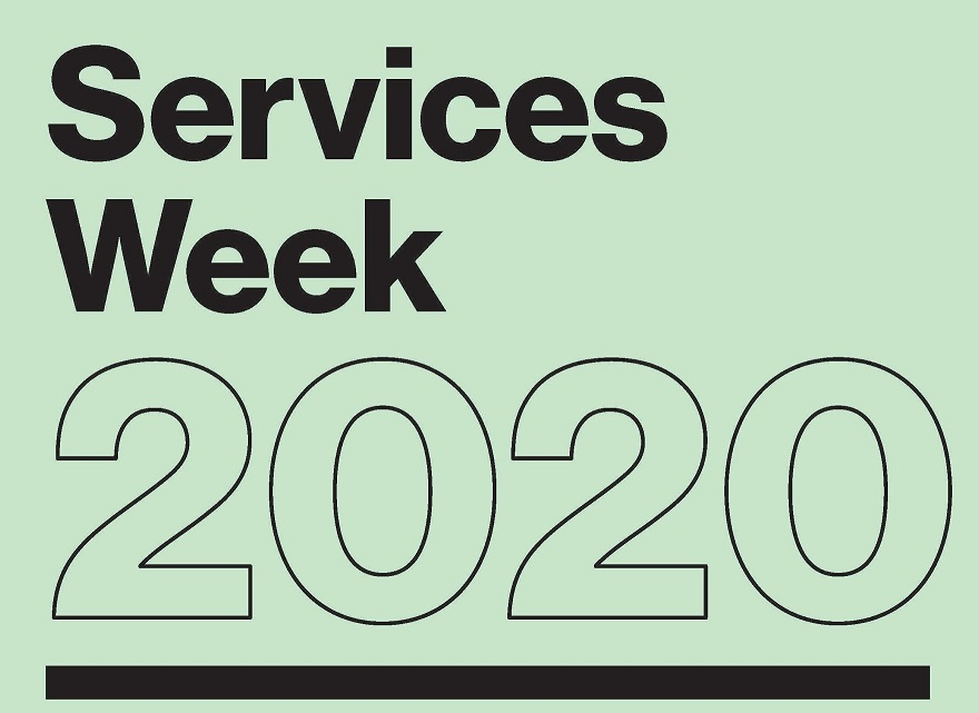 Services Week 2020 poster